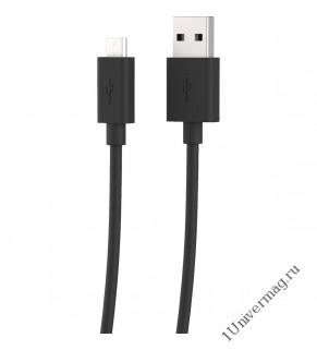 USB кабель Pro Legend micro USB,  чёрный, 1м