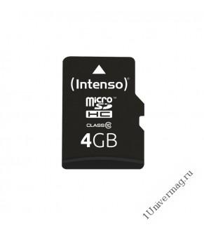 Micro SDHC class 10, Borofone, 4GB