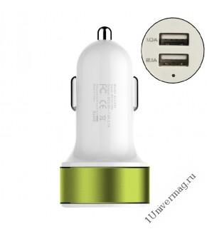 Автомобильное зарядное устройство Pro Legend, 2 USB, 2А