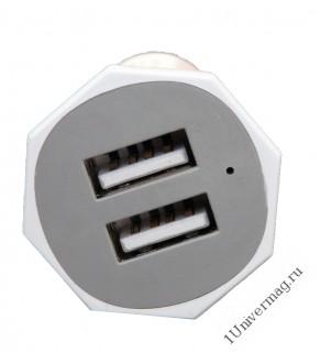 Автомобильное зарядное устройство Pro Legend, 2 USB, Алмаз, 2А