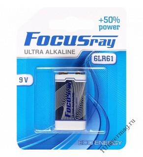 FOCUSray 6LR61 (Крона) батарейка