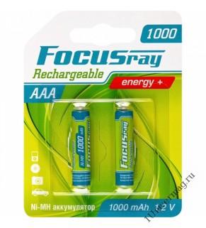 FOCUSray 1000 mAH AAA  аккумулятор (2шт)