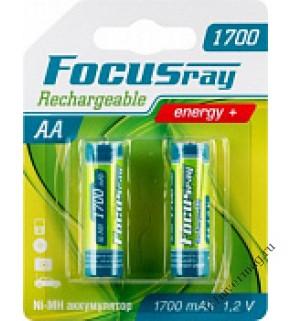 FOCUSray 1700 mAH AA аккумулятор