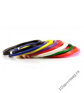 UNID Набор пластика для 3D ручек: ABS9 (по 10м. 9 цветов)