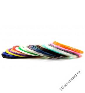 UNID Набор пластика для 3D ручек: PLA-20 (по 10м. 20 цветов)