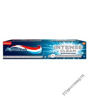 АКВАФРЕШ зубная паста Интенсивное очищение / Отбеливание,75 мл