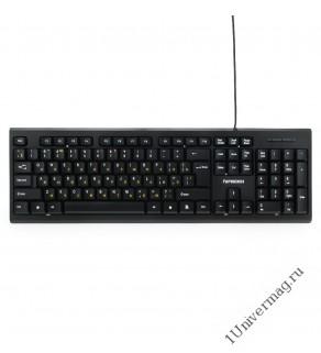 Клавиатура Гарнизон GK-120, USB, черный