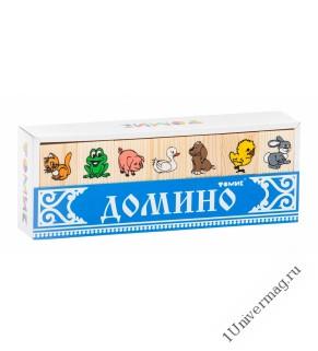 """Домино """"Животные"""" 5555-1"""