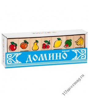 """Домино """"Фрукты-ягоды"""" 5555-5"""