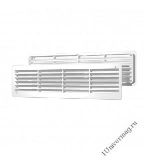 4409ДП, Решетка вентиляционная переточная АБС 450х91, бел., ERA