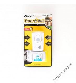Беспроводной звонок GARIN DoorBell Rio-220V c ночником и с влагозащищ. кнопкой, 220V-23A