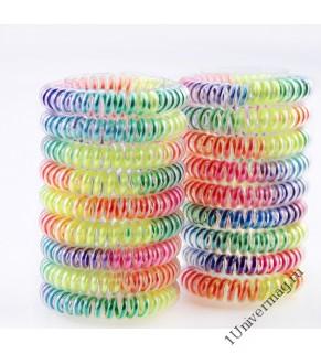 Резинка-спиралька неон (2шт)