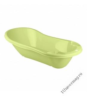Ванна детская с клапаном для слива воды (салатовый)