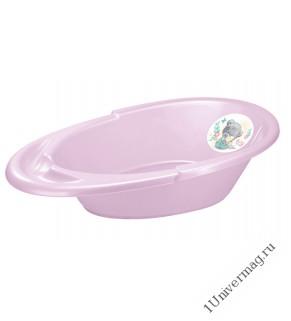 """Ванна детская с аппликацией """"Me to you"""" 940х540х270 мм (розовый)"""