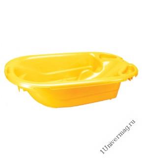Ванна детская, 34л (желтый)