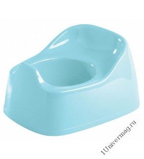 Горшок  детский 270х220х150 мм (светло-голубой)