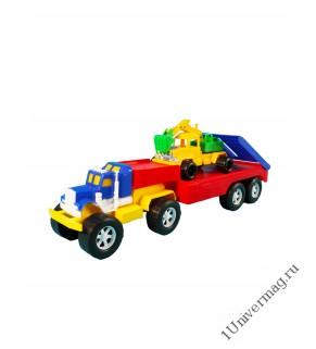 Автомобиль Трак Автотрейлер