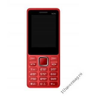 Мобильный телефон Jinga М240 красный