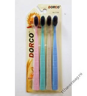 Зубная щетка бамбук 4шт