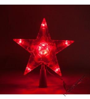 Звезда с подсветкой малая