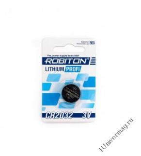 Robiton CR2032 Батарейка 1шт