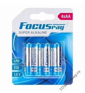 FOCUSray SUPER ALKALINE LR6 батарейка (2шт)