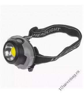 FOCUSray 1059 фонарь налобный COB 3W