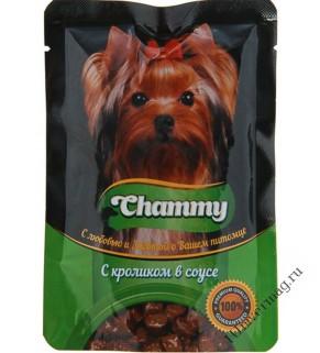Чамми (Chammy) Кролик Соус для взрослых СОБАК, 85гр