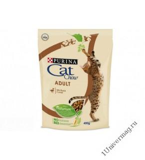 КЭТ ЧАУ утка для взрослых кошек, 400гр