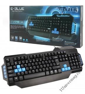 Клавиатура проводная E-Blue Mazer TYPE-X Black