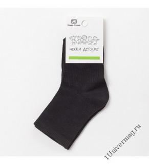 Носки детские Ft-0-L-1 цвет чёрный, р-р 16-18