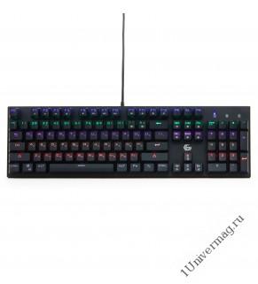 Клавиатура механическая Gembird KB-G550L, USB, черн