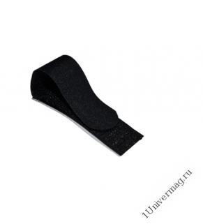Хомут-липучка с клеевой основой 70мм x 20мм 5 шт / 1 цвет / черный