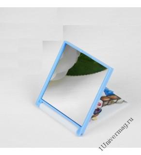 Зеркало складное пластик квадрат (1) без увел 7*6,5см
