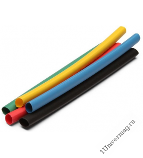 Набор термоусадочных трубок Pro Legend 4/2 по 1м 6 шт