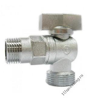 Кран угловой мат.1/2х1/2  OSCAR-M/056