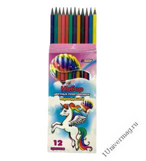 Набор карандашей 12 цв