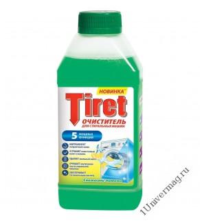 Очиститель Tiret Свежесть Лимона для стиральных машин 250 мл