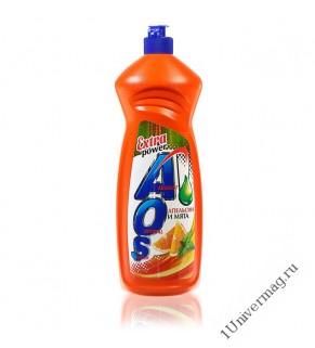 """AOS средство для мытья посуды """"Апельсин и Мята"""" 900мл"""