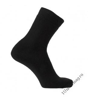 Носки мужские кр-001м-ч цвет чёрный, р-р 27