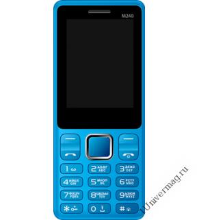 Мобильный телефон Jinga M240 Синий
