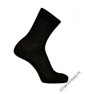 Носки мужские К33-12 цвет чёрный, р-р 27