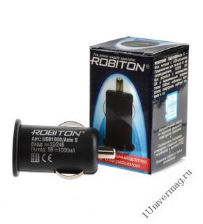 ROBITON USB1000/Auto S АВТОМОБИЛЬНОЕ ЗАРЯДНОЕ УСТРОЙСТВО