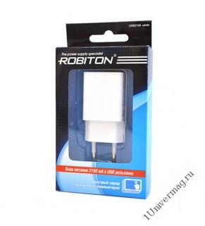 ROBITON USB2100 white Сетевой адаптер