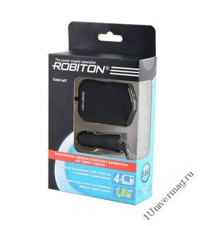 ROBITON Travel-set1 Автомобильное зарядное устройство