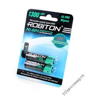 Аккумулятор ROBITON 1300MHAA-2 DECT BL2