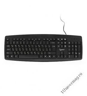 Клавиатура Gembird KB-8351U-BL, USB, черный, 104 клавиши