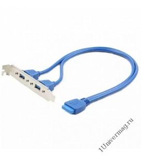 Планка в сист блок Gembird  2xUSB 3.0/20pin мат.платы CC-USB3-RECEPTACLE
