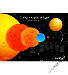 (RU) Постер Levenhuk «Солнце и другие звезды»