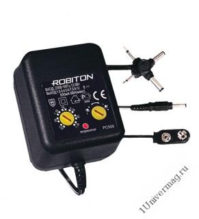 Адаптер/блок питания  ROBITON PC500мА BL1